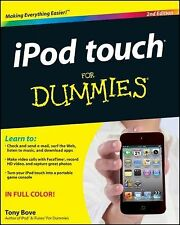 iPod touch For Dummies Bove, Tony Paperback