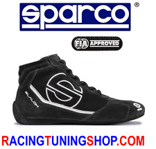 SCARPE SPARCO OMOLOGATE FIA SLALOM RB3 TG 47 - RACING SHOES FIA BOOTS  47 BLACK