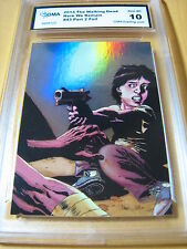 THE WALKING DEAD 2013 HERE WE REMAIN CARL GRIMES FOIL # 43 GRADED 10 L@@K