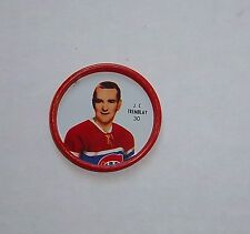 Shirriff metal coin J.C. Tremblay # 30 Montreal Canadians 1962-63  set # 9