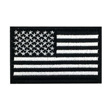 USA AMERICAN FLAG TACTICAL US ARMY MORALE MILITARY BADGE DARK VELCRO PATCH 012
