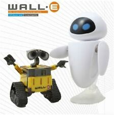 2 x Disney Wall E & Eee-Vah Eve Action Figure Kid Display Figurines Play Set Toy