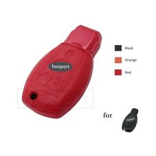 Genuine Leather Cover Shell for MERCEDES BENZ Smart Remote Key Case Fob RD