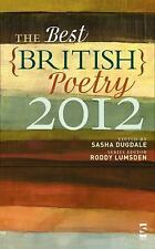 The Best British Poetry 2012 by Sasha Dugdale (2012, Paperback)