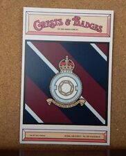Royal Air force No 158 Squadron Crests & Badges of  the Armed services Postcard