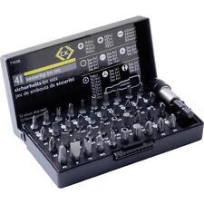 CK 41 Pieza 25mm Seguridad A prueba de manipulación Destornillador Torx/Hex./Tri