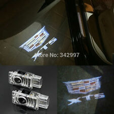 2x Ghost LED Door Step Courtesy Shadow Laser Lights For Cadillac XTS 2013-2016