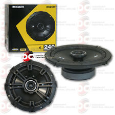 "BRAND NEW KICKER 6.5-INCH 6-1/2"" 2-WAY CAR AUDIO COAXIAL SPEAKERS (PAIR)"