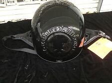 Harley Davidson Helmet Willie G. 3D Skull Gloss Black 97362-06V/002L XL New NOS