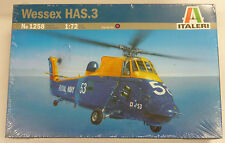 Italeri 1/72 Wessex HAS3 Camel Helicopter Model Kit 1258