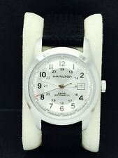 Hamilton Khaki Field Silver Dial Automatic Men's Military Watch 25 Jewels