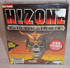 HZONE for Hexen and Heretic PC 1996 Wizard Works CD Rom