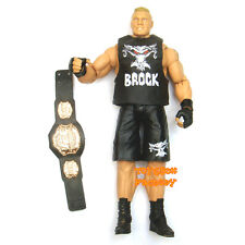 WWE Brock Lesnar UFC Heavyweight Champion Belt Wrestling Action Figure Kid Toy