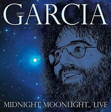 JERRY GARCIA - MIDNIGHT MOONLIGHT? LIVE 2 CD NEU