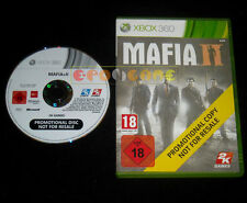 MAFIA II 2 XBOX 360 Versione Promo Europea »»»»» DVD GOOD