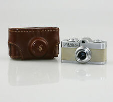 MEOPTA Mikroma II (Beige) Sub-miniature 16mm Film Camera c.1959 - SCARCE (CZ62)