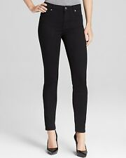 NEW! 7 for All Mankind Slim Illusion Luxe High Waist Skinny Jeans in Black-SZ 26