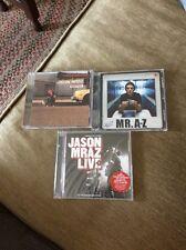Jason Mraz CDs Waiting For My Rocket, Mr. A-Z, Tonight, Not Again