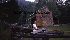KODACHROME 35mm Slide Great Smoky Mountains National Park Cades Cove Cabin 1969!