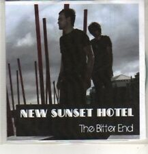 (CO379) New Sunset Hotel, The Bitter End - 2009 DJ CD