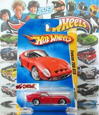 Hot Wheels 2009 #005 Ferrari 250 GTO RED,1ST COLOR,WSP,BLACK BASE,INTL,NICE!
