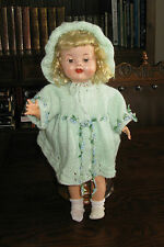 "VINTAGE 1950'S 16"" RODDY HAND ASSISTED WALKER DOLL in superb condition"