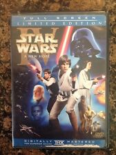 Star Wars A New Hope (DVD,2006,2-Disc,Limited Edition Pan Scan) Authentic US