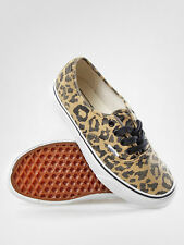 VANS AUTHENTIC VAN DOREN LEOPARD BLACK SZ MENS 10.5 SHOES NIB ERA SKATE SK8 HI