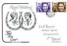 14 NOVEMBER 1973 ROYAL WEDDING COTSWOLD FIRST DAY COVER TAUNTON CDS