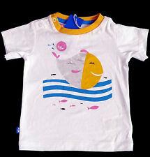 """adidas """"I FUNFISHTEE"""" Kinder Baby Kleinkinder Mädchen T-Shirt weiß Gr. 86"""