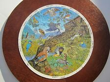 WILD BIRDS A MICHAEL STANFIELD 300 PIECE JIGSAW DESIGNED FOR THE RSNC (ROUND)
