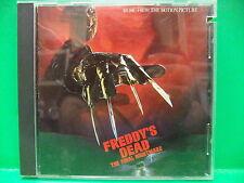 Freddy's Dead The Final Nightmare 1991 CD On Elm Street Freddy Krueger Soundtrac