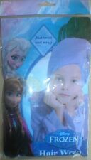 NEW *Disney* Frozen Elsa Blue Just Twist Towel Wrap Ideal Gift