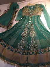Indian wedding dress two in one