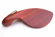 Rosewood Violin 4/4 Chin Rest Hardwood Chinrest with Gold plated clamp