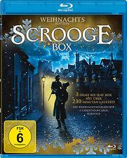 Charles Dickens SCROOGE A CHRISTMAS CAROL Die Nacht vor Weihnachten BLU-RAY Box