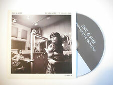 SHE & HIM : NEVER WANTED YOUR LOVE ♦ CD SINGLE PORT GRATUIT ♦