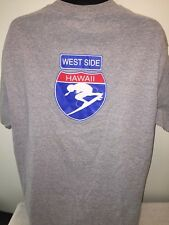 Mens Town and Country Surf Designs Shirt Hawaii hic T&C Gray Extra Large XL