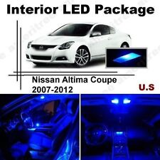 Blue LED Lights Interior Package Kit for Nissan Altima Coupe 07-12 9Pcs