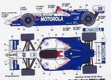 1/25 CART Motorola decal/Tamiya F1