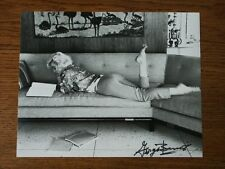 GEORGE BARRIS FOTO MARILYN MONROE PHOTO SIGNED STAMPED