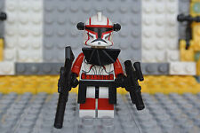 Lego Star Wars ~Clone Trooper Commander Fil Custom