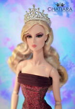 Diamond Crown Tiara Barbie Fashion Royalty Dolls 4