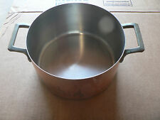 """Vintage Copper Pan with Brass Handle by 1801 Paul Revere Ware 7 1/2"""" x 4"""""""