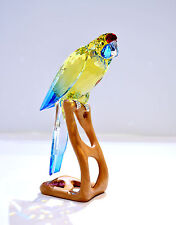 Swarovski Green Rosella Jonquil Mega Bird Paradise Rare and retired