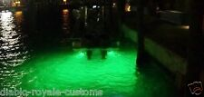GREEN LED UNDERWATER FISHING DROP LIGHT BOAT DOCK PIER NIGHT FISHING LED LIGHT
