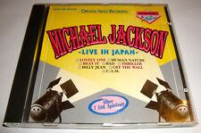 Michael Jackson LIVE 1987 BAD Tour Japan Yokohama CD Billie Jean Thriller Pop