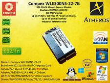Compex WLE300N5 Atheros AR9390 XB114 Mini Card 450 mbps 802.11A/N Highpower 5ghz