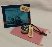 Polar Express Reindeer Bell with HANDMADE card