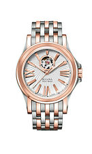 Bulova Accutron Men's 65A105 Accu Swiss Kirkwood Automatic Two-Tone Watch